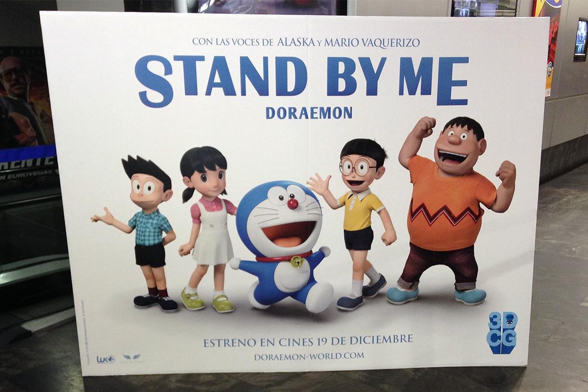 Presentación de la primeras imágenes de Stand by Me Doreamon