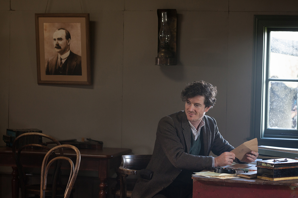 Barry Ward en Jimmy´s Hall