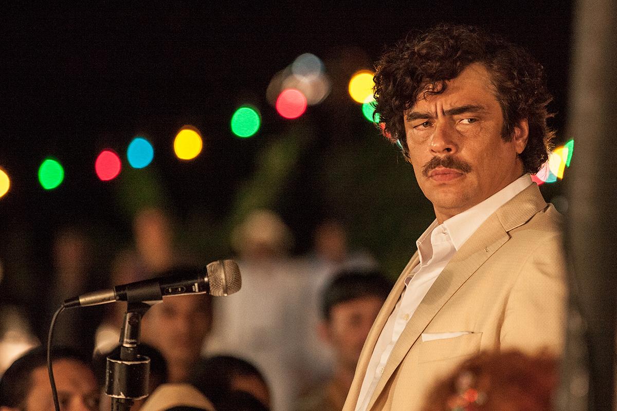 Benicio Del Toro en Escobar: Paraíso perdido