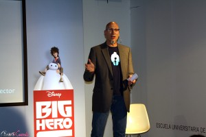Roy Conli en la masterclass de Big Hero 6