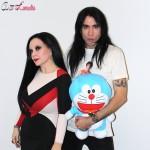 Mario Vaquerizo y Alaska en la presentación de Stand by Me Doraemon (2)