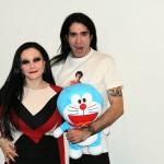 Mario Vaquerizo y Alaska en la presentación de Stand by Me Doraemon (3)