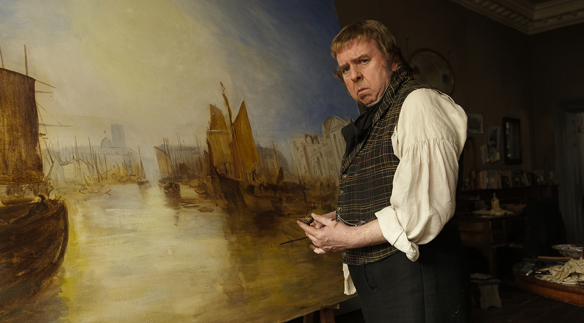 Timothy Spall en Mr. Turner (2)