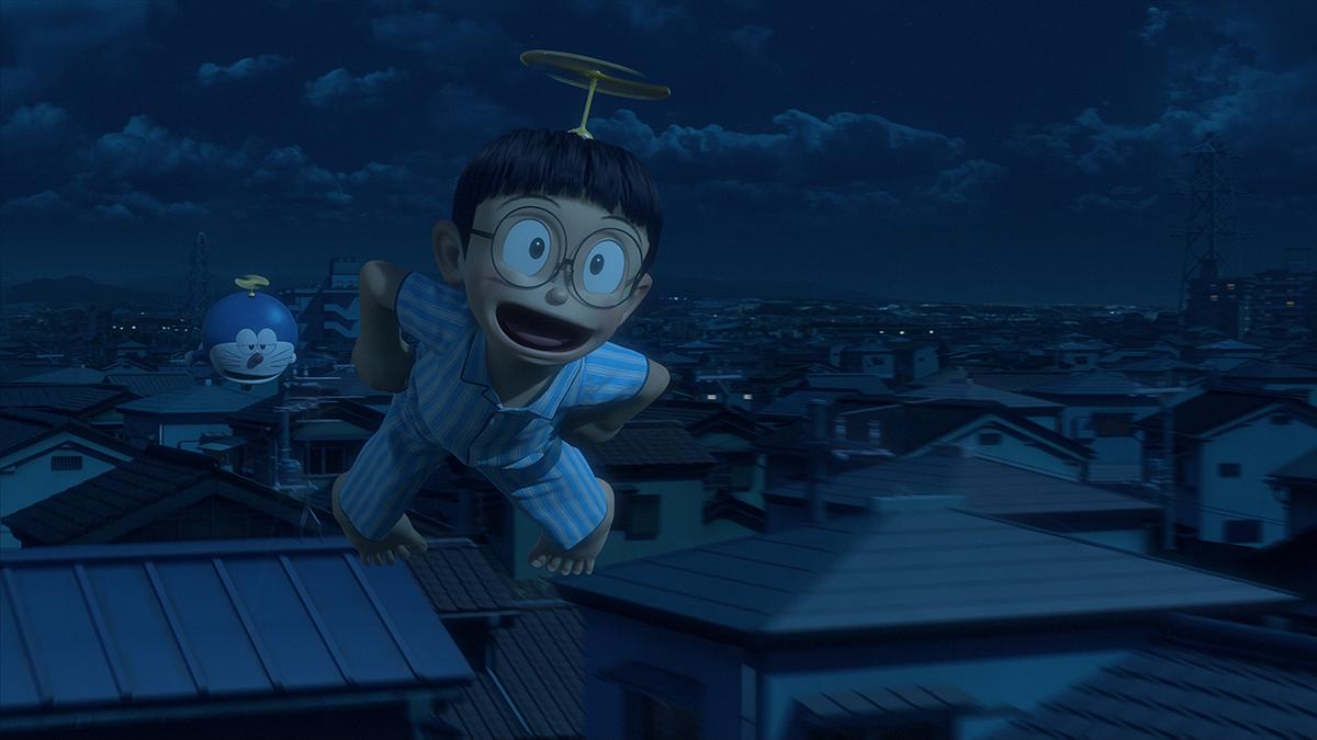 Doraemon y Nobita en Stand by Me Doraemon (2)