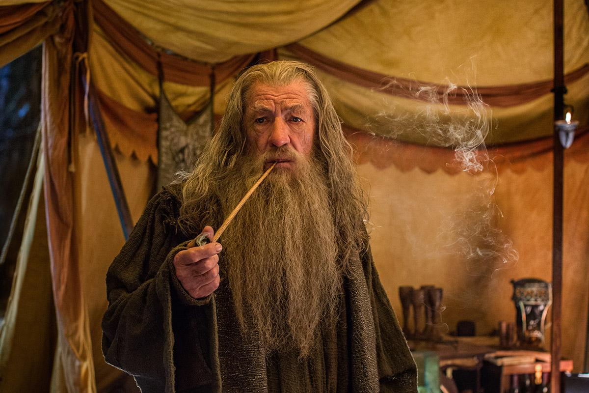 Ian McKellen en El Hobbit: La batalla de los cinco ejércitos