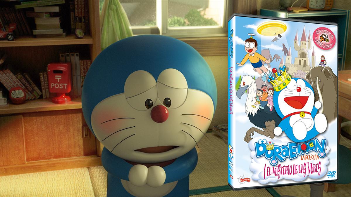 Doraemon + DVD Doraemon y el Misterio de las Nubes