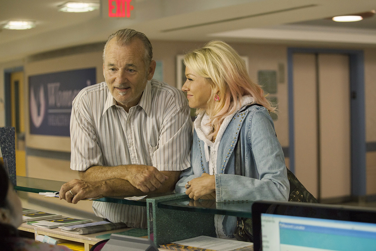 Bill Murray y Naomi Watts en St. Vincent