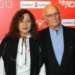 Eulalia Ramón y Carlos Saura en los Fotogramas de Plata 2013