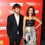 Raúl Arévalo y Alicia Rubio en los Fotogramas de Plata 2013