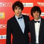 Javier Calvo y Javier Ambrossi en los Fotogramas de Plata 2013