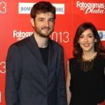 Gorka Otxoa y acompañante en los Fotogramas de Plata 2013