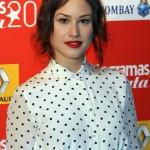 Aida Folch en los Fotogramas de Plata 2013
