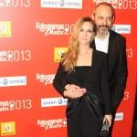 María Esteve y Alfonso Albacete en los Fotogramas de Plata 2013