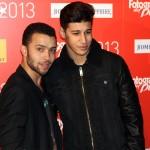 Ayoub El Hilali y Adil Koukouh en los Fotogramas de Plata 2013