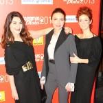 Ana Fernández, Candela Fernández, y Marta Berenguer en los Fotogramas de Plata 2013