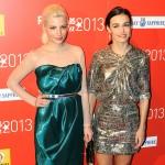 Miriam Giovanelli y Sara Rivero en los Fotogramas de Plata 2013
