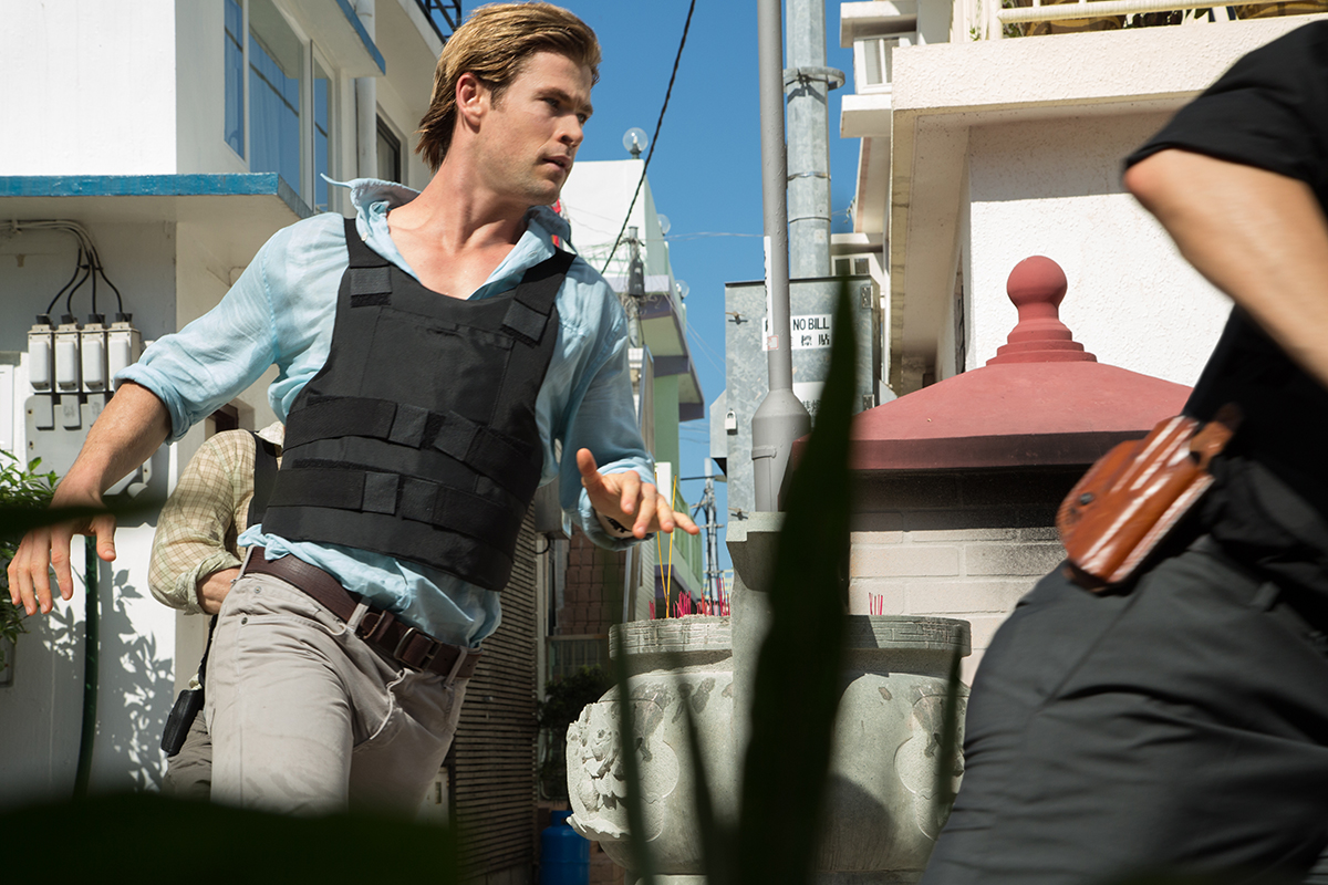 Chris Hemsworth en Blackhat - Amenaza en la red