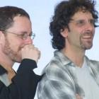 Los Hermanos Coen en Cannes 2001 (©Rita Molnár)