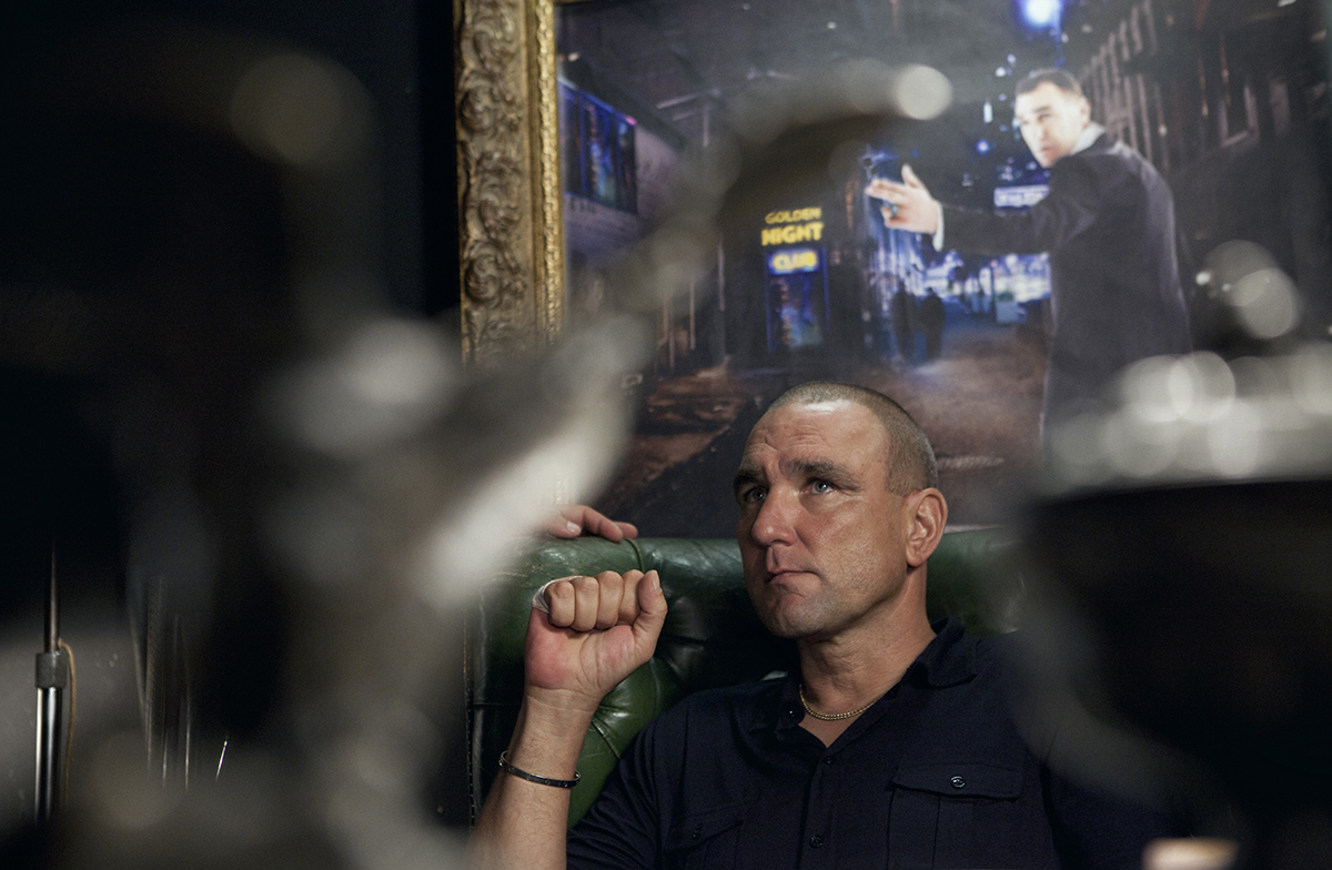 Vinnie Jones en Redirected