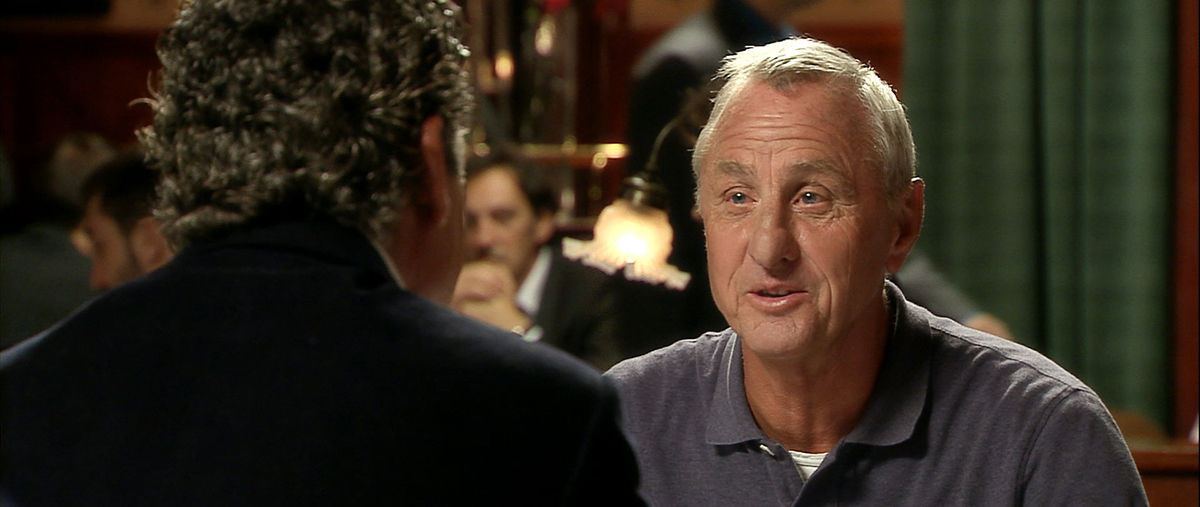 Johan Cruyff en Messi