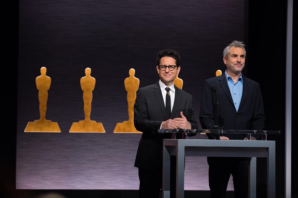 J.J. Abrams y Alfonso Cuarón en las nominaciones a los Oscars 2015