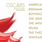 Nominadas a mejor película en los Oscars 2015