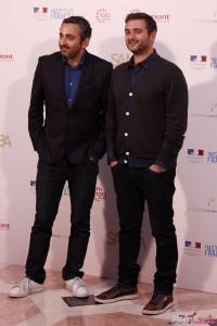 Eric Toledano y Olivier Nakache en la presentación de Samba