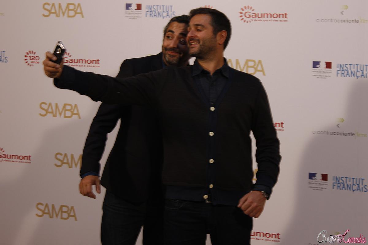 Eric Toledano y Olivier Nakache en la presentación de Samba (3)
