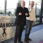Carlos Areces y Jaime Ordóñez en la presentación del rodaje de Mi gran noche