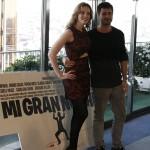 Carolina Bang y Hugo Silva en la presentación del rodaje de Mi gran noche