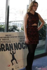 Carolina Bang en la presentación del rodaje de Mi gran noche