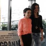 Marta Castellote y Marta Guerras en la presentación del rodaje de Mi gran noche