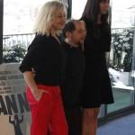 Carmen Machi, Tomás Pozzi y Carmen Ruiz en la presentación del rodaje de Mi gran noche
