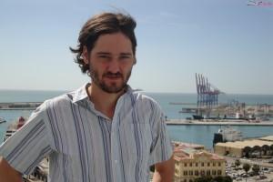 Carlos Marques-Marcet en la presentación de 10.000 Km en el 17 festival de Málaga
