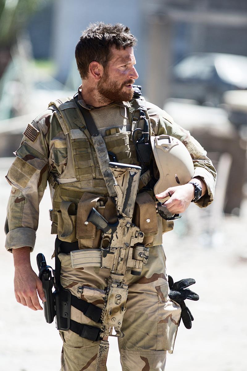 Bradley Cooper en El francotirador