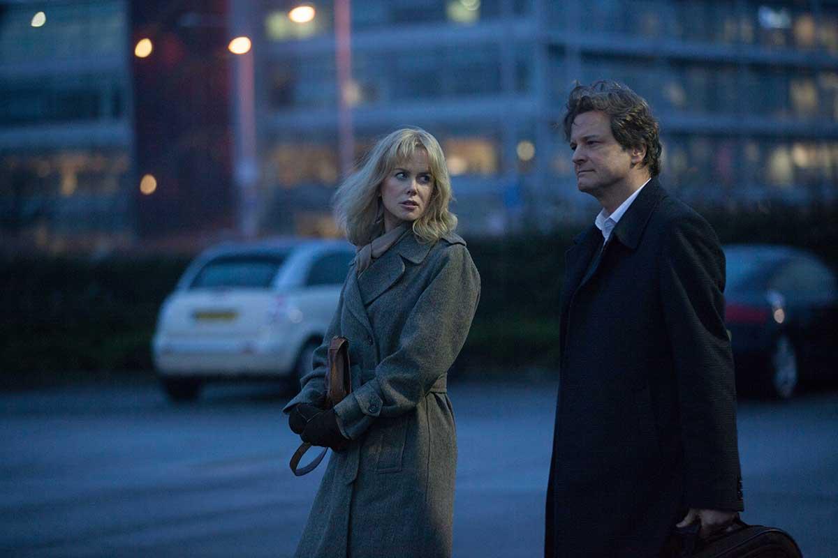 Nicole Kidman y Colin Firth en No confíes en nadie