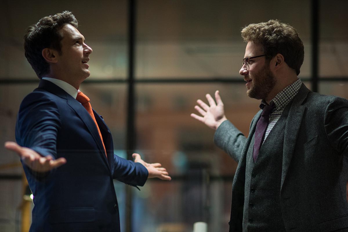 James Franco y Seth Rogen en The Interview