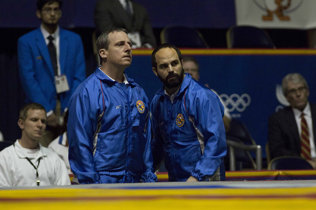 Steve Carell y Mark Ruffalo  en Foxcatcher