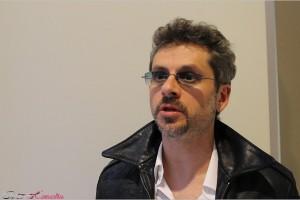 Juanma Bajo Ulloa en la presentación del proyecto Rey Gitano en el 17 Festival de Málaga
