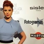 Alba Messa en los Fotogramas de Plata 2014