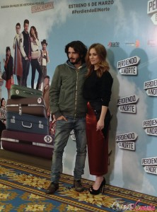 Yon González y Blanca Suárez en la presentación de Perdiendo el norte