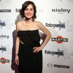 Nadia de Santiago en los Fotogramas de Plata 2014