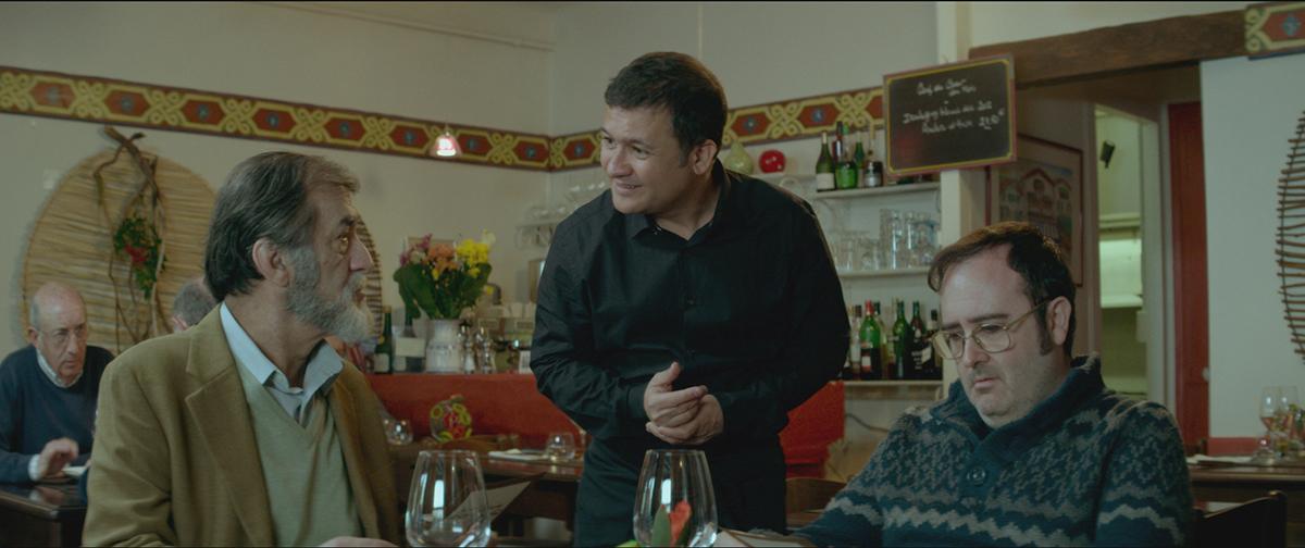 Ramón Barea, Secun de la Rosa y Carlos Areces en Negociador