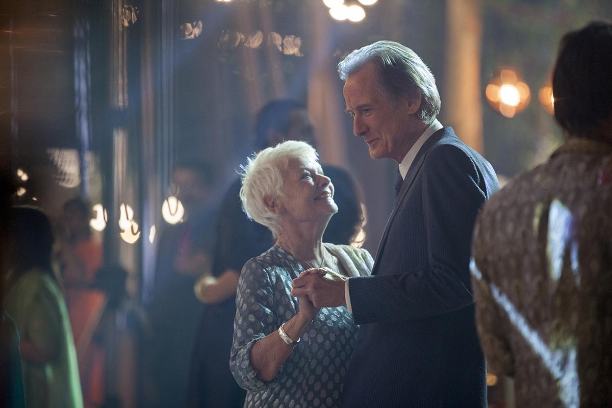 Judi Dench y Bill Nighy en El nuevo exótico hotel Marigold