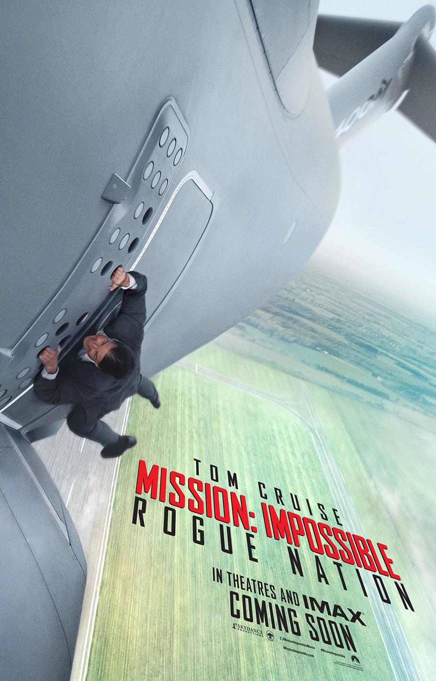 Misión imposible: Nación secreta - Teaser poster americano
