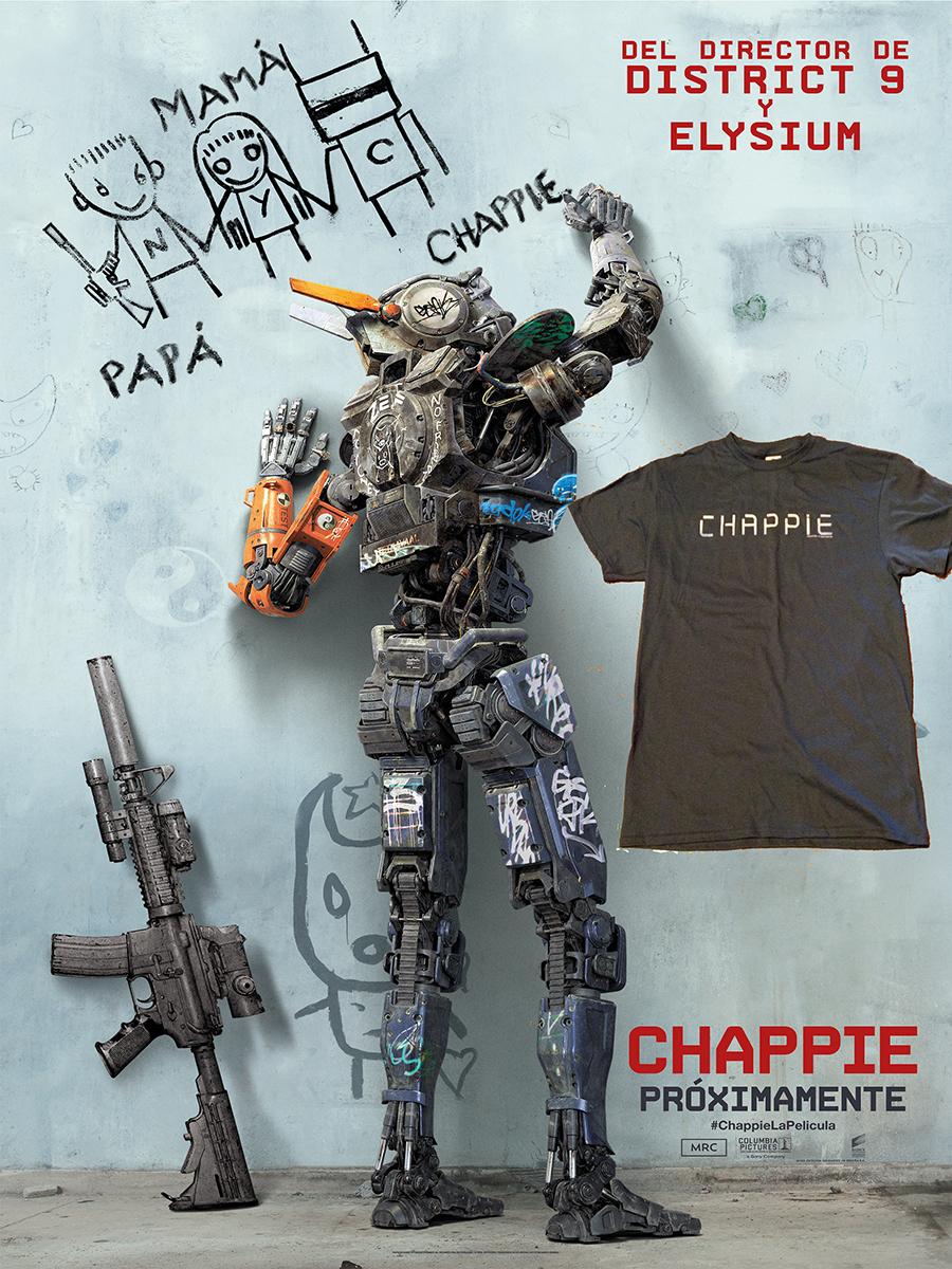Camiseta de Chappie