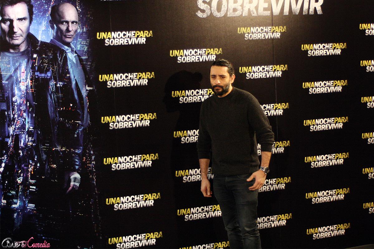 Jaume Collet-Serra en la presentación de Una noche para sobrevivir (2)