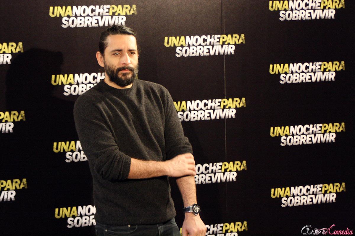 Jaume Collet-Serra en la presentación de Una noche para sobrevivir