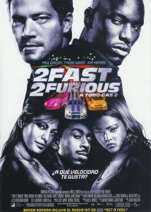 2 Fast 2 Furious (A todo gas 2) - Poster