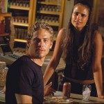 Paul Walker y Jordana Brewster en A todo gas (The Fast and the Furious)